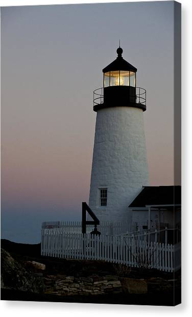 Pemaquid Point Aglow Canvas Print