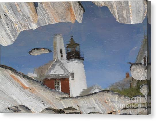 Pemaquid Point Light Canvas Print by John Doble