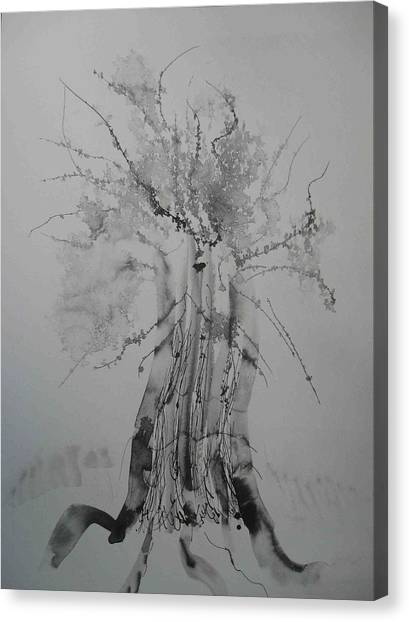Pen And Ink Eleven Canvas Print