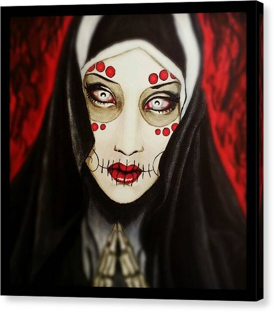 Skulls Canvas Print - Penance by Shayne  Bohner
