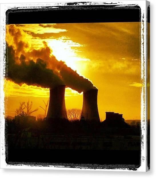 Pennsylvania Canvas Print - Pennsylvania's Sunset by Luis Alberto