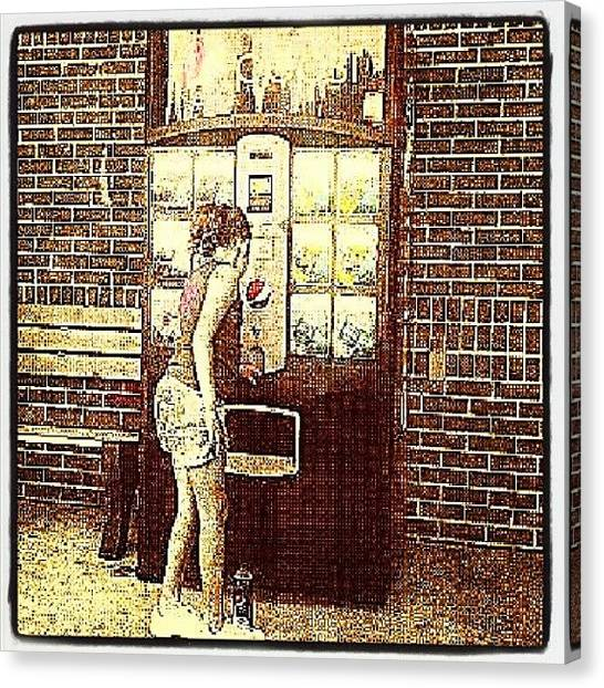 Soda Canvas Print - Pepsi-scj. #popular #pepsi #sc by Andi Lockett-johnson