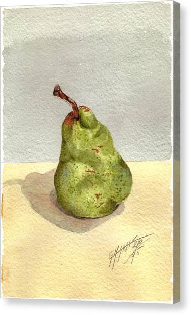 Pera Canvas Print by Giovanni Marco Sassu