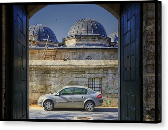 Suleymaniye Canvas Print - Perfect Placement by Joan Carroll