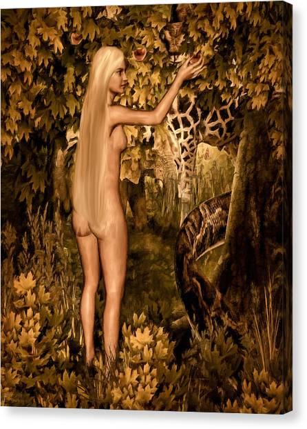 Pythons Canvas Print - Persuaded by Lourry Legarde