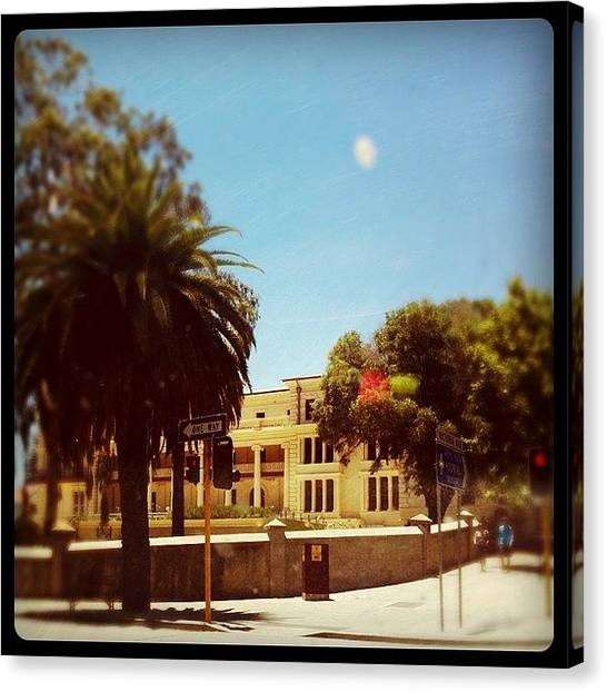 Stoplights Canvas Print - #perth #city #westernaustralia by Kirk Roberts