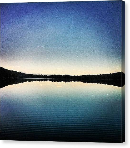 Tetons Canvas Print - Phelps Lake by Niels Rasmussen