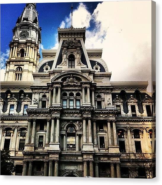 Philadelphia Canvas Print - #philadelphia #capital by Daniel Corson