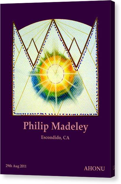 Philip Madeley Canvas Print