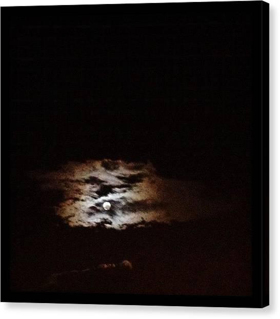 Thunderstorms Canvas Print - #photoadayaugust Day 31!!! #hidden by Jonelle Dansie