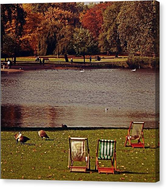 London Canvas Print - #photooftheday #london #regentspark by Ozan Goren