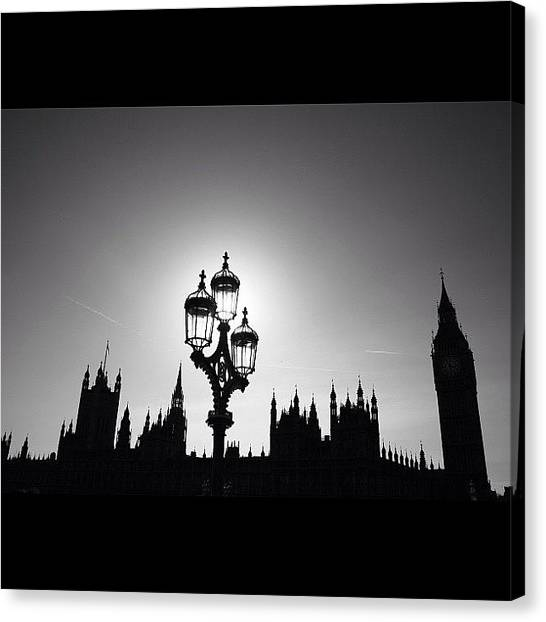 London Canvas Print - #photooftheday #natgeohub #instagood by Ozan Goren