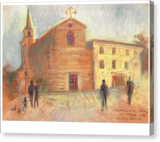 Piazza Garibaldi Cervia Ra Canvas Print