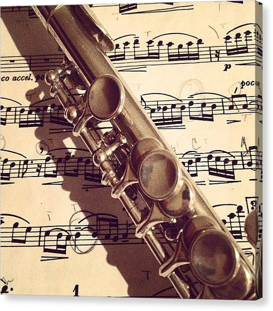 Flutes Canvas Print - Piccolo. #music #love #flute #piccolo by Natalia Christiano