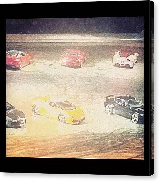 Racing Canvas Print - Pick One by Shirley  Sutandhio