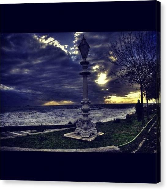 Turkish Canvas Print - #picoftheday #photooftheday #aloneman by Ozan Goren