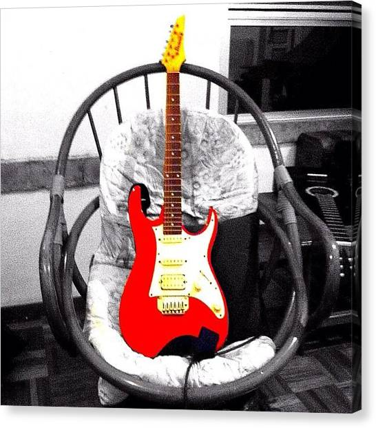 Guitars Canvas Print - #picoftheday #photooftheday #igers by Highsam Achkar