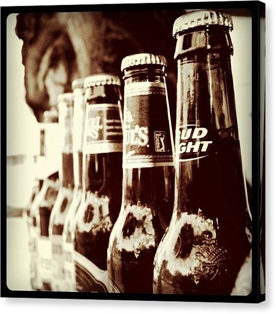 Beer Canvas Print - #picoftheday #photooftheday by Matt Turner