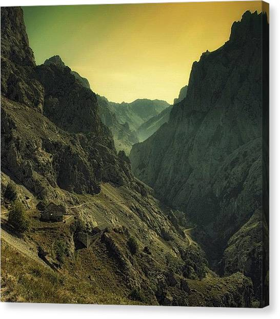 Soccer Leagues Canvas Print - Picos De Europa by Joao Miguel