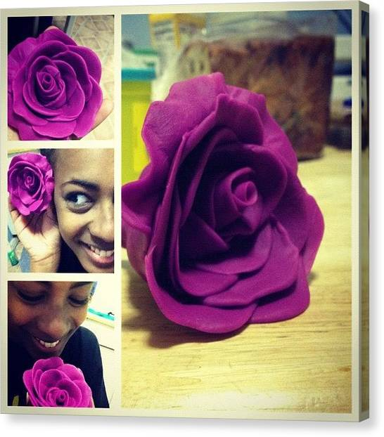 Imaginative Canvas Print - #picstitch: First Play-doh Creation 🌹 by Erica Graves
