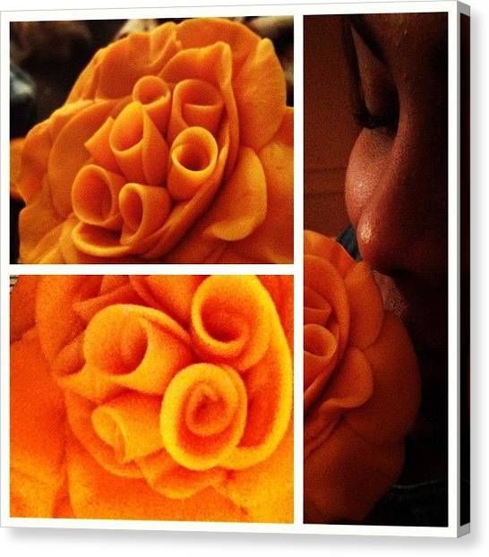 Imaginative Canvas Print - #picstitch Orange Bliss by Erica Graves