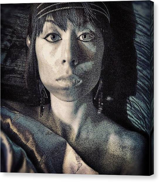 Princess Canvas Print - Picture Of My Sister That I Took Off by J Lopez