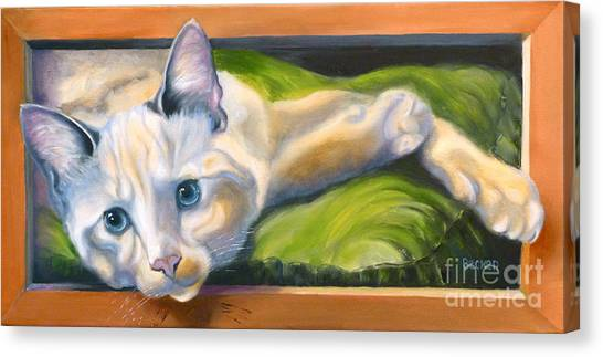 Picture Purrfect Canvas Print