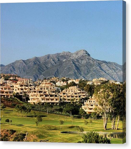 Wilderness Canvas Print - Picture Was Taken In Spain, Marbella by Ben Armstrong