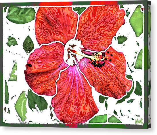 Pieces Canvas Print by Marilyn Atwell