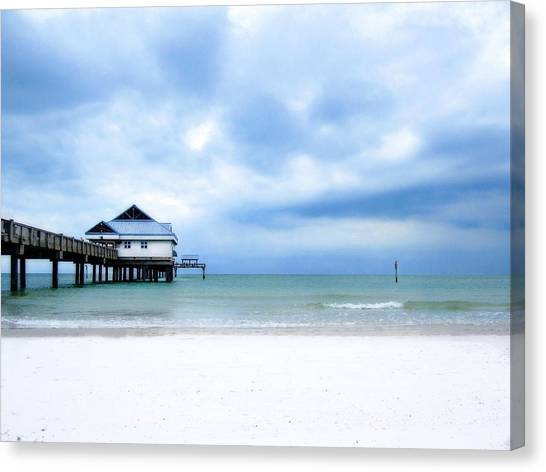 Pier 60 At Clearwater Beach Florida Canvas Print