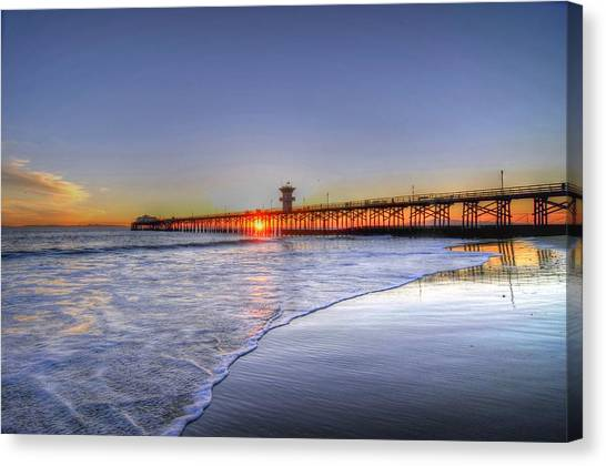 Pier Vista Canvas Print