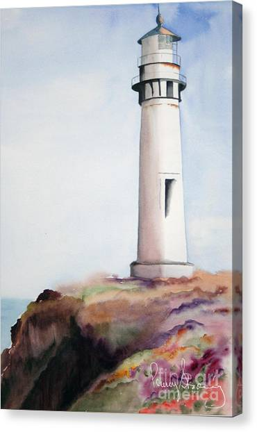 Pigeon Point Lighthouse Canvas Print