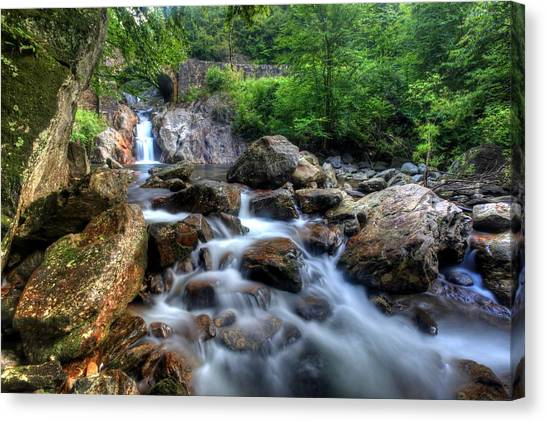 Pigeon River Canvas Print by Doug McPherson