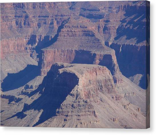 Pillars In Time Canvas Print by