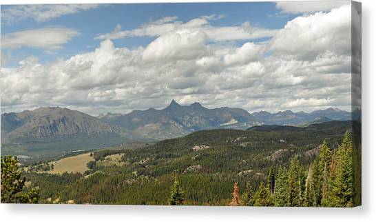 Pilot Peak Panorama Canvas Print