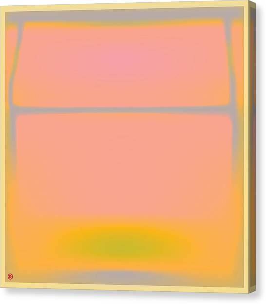Warhol Canvas Print - Pink Yellow And Grey by Gary Grayson