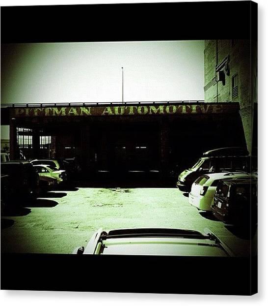 Seattle Canvas Print - Pittman Automotive by T Catonpremise