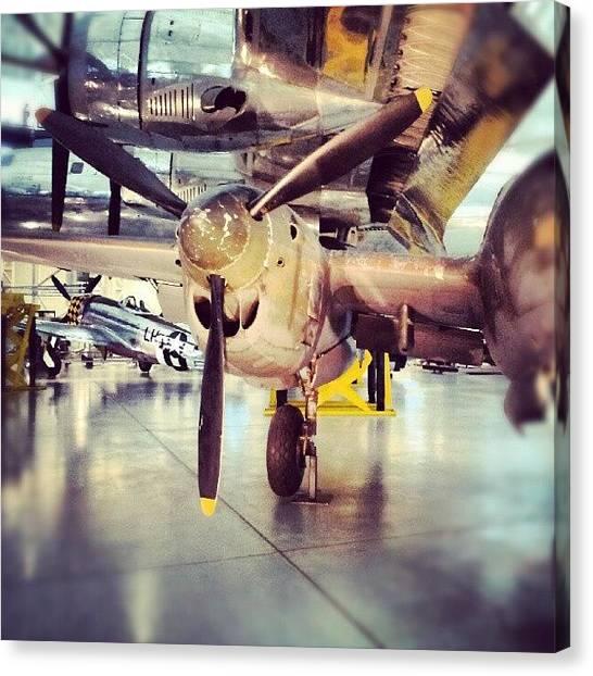 Washington Canvas Print - #plane, #airplane, #fighter by Ashok Mani