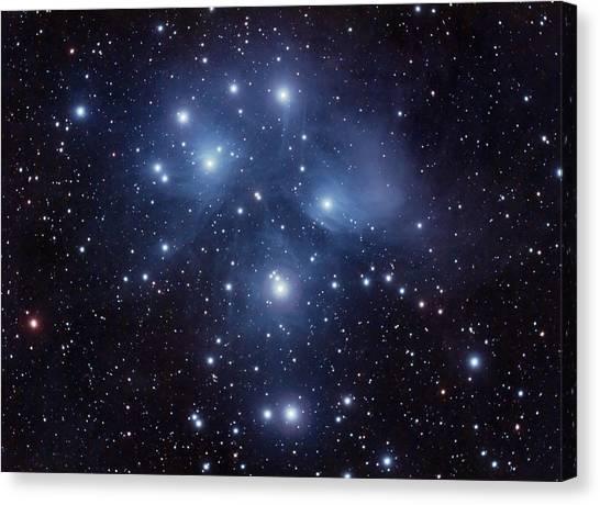 Pleiades M45 Canvas Print