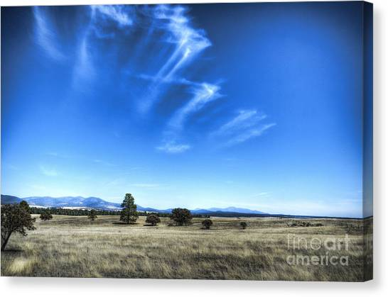 Point Of Pines - San Carlos Indian Reservation Canvas Print