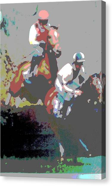 Point To Point Canvas Print