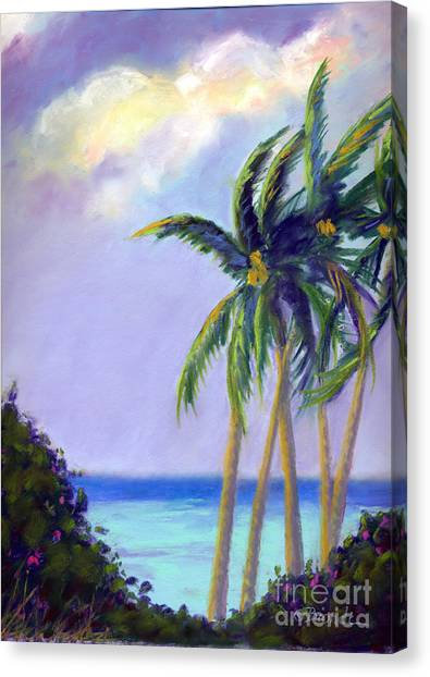 Poipu Palms Canvas Print