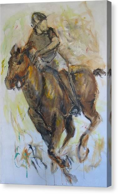 Polo 3 Canvas Print