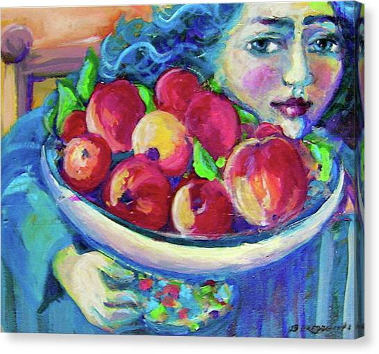 Pommes Canvas Print