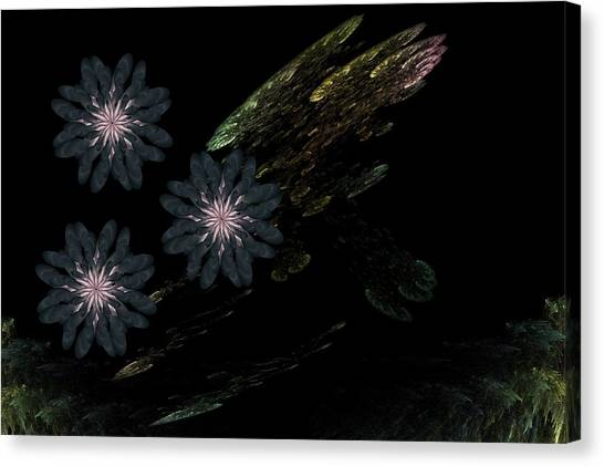 Pond Canvas Print by Ricky Kendall