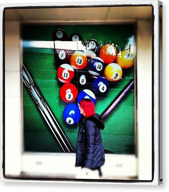 Gamer Canvas Print - Pool Balls by Brent McGilvary