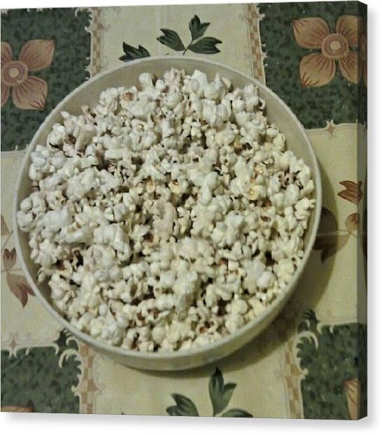 Popcorn Canvas Print - Popcorn by Tibor Kiraly