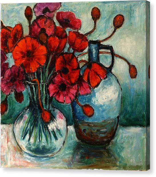 Poppy Day Canvas Print