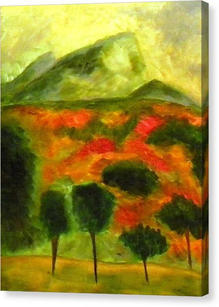 Poppy Fields A Wonder Canvas Print