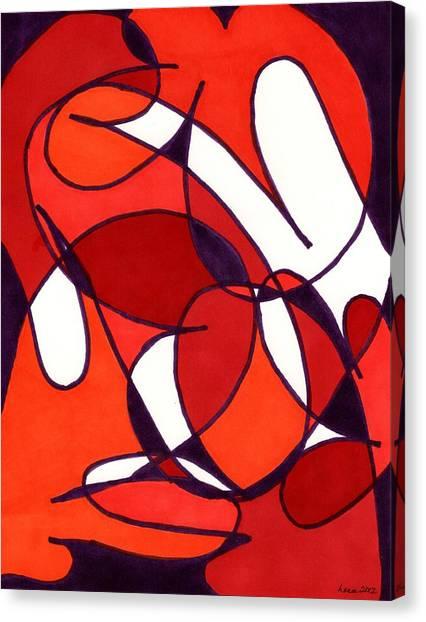 Poppy Fields Canvas Print by Lesa Weller